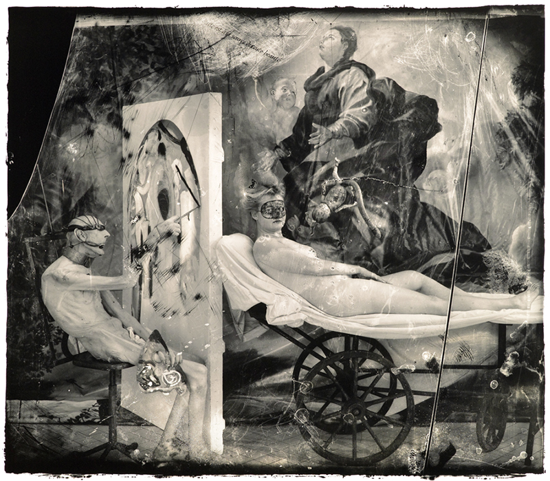 Poussin in Hell, 1999