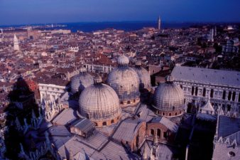 Italy-Venice-Aerial-View-of-St