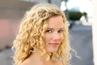 Blond Girl Headshots in LA