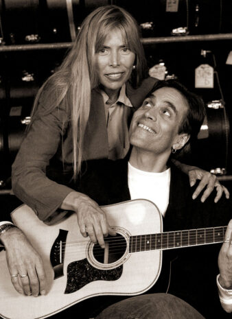 joni-mitchell-&-eric-anders-sepia